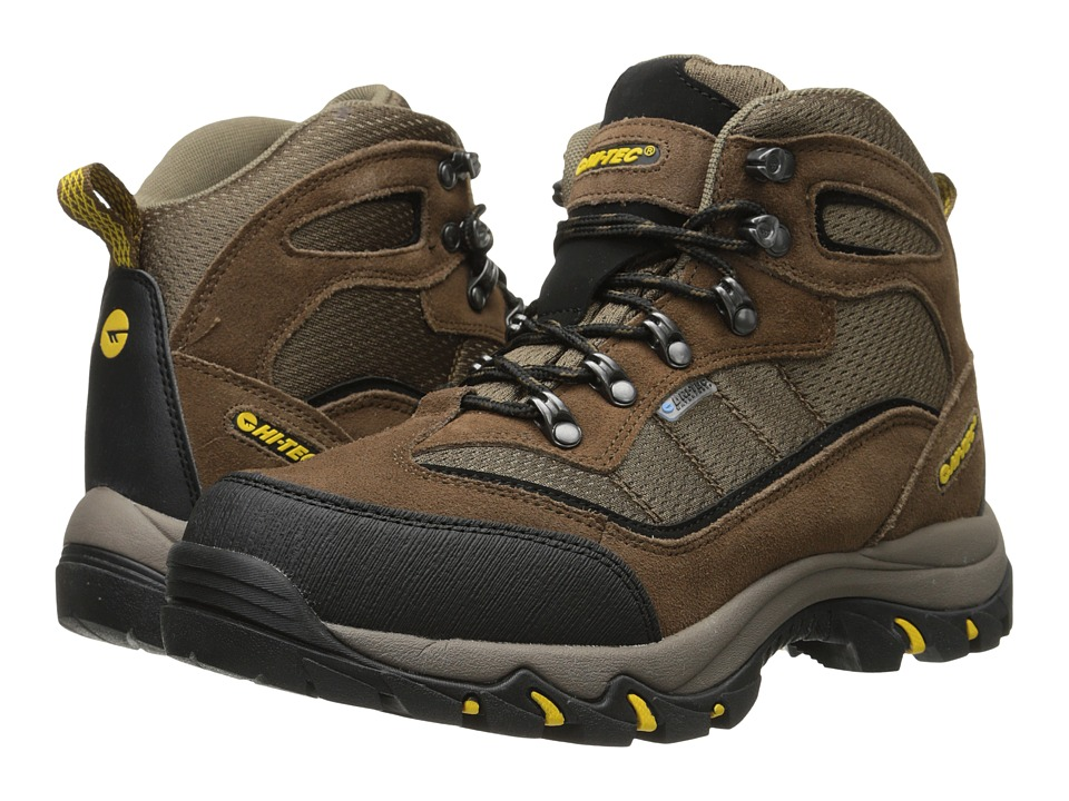 Hi-Tec - Skamania Waterproof (Brown/Gold) Mens Boots