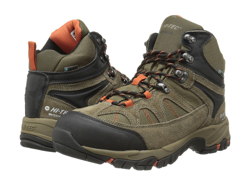 Hi-Tec - Altitude Lite I-Shield Waterproof (Smokey Brown/Taupe/Red Rock) Men