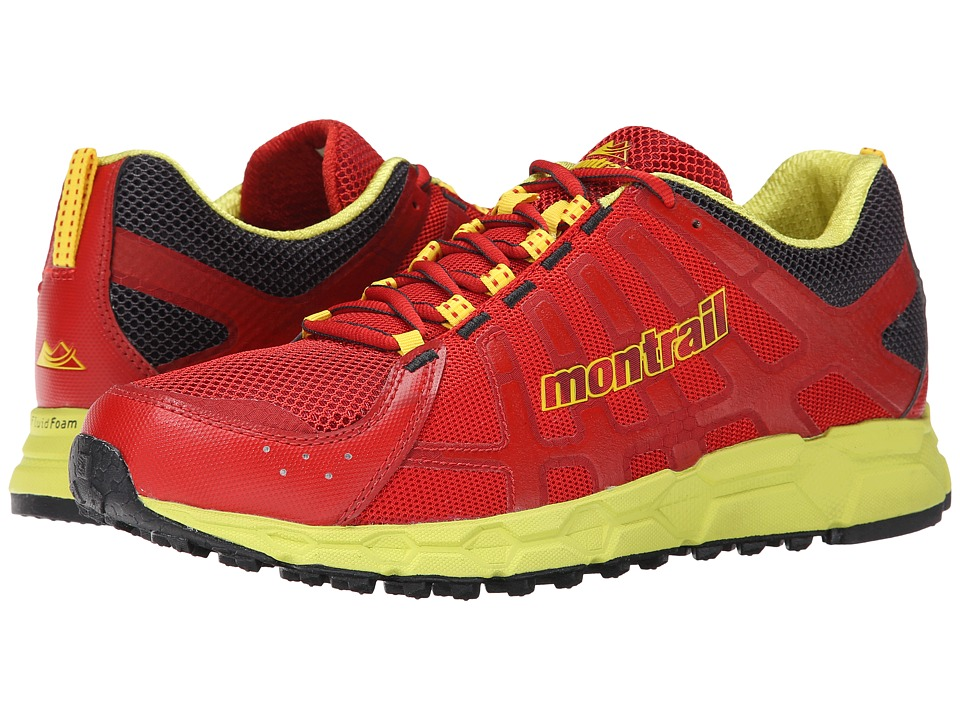 Montrail Bajada II Sail Red/Chartreuse Mens Shoes