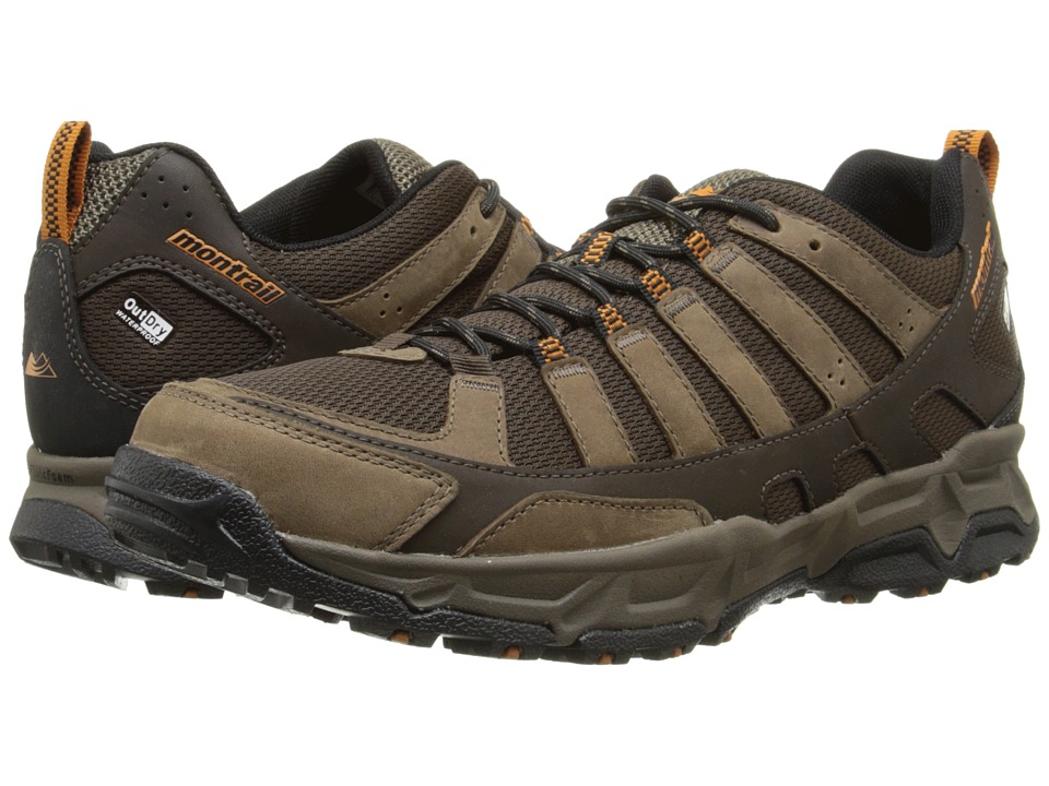 Montrail Fluid Enduro Leather Outdry Cordovan/Bright Copper Mens Shoes