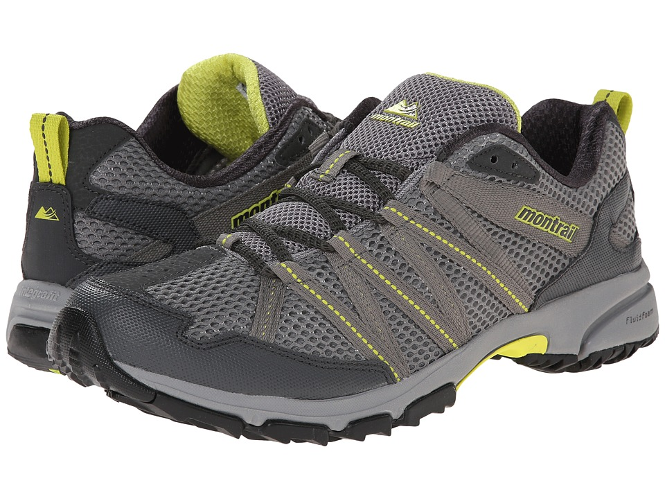 Montrail - Mountain Masochist III (Light Grey/Chartreuse) Men