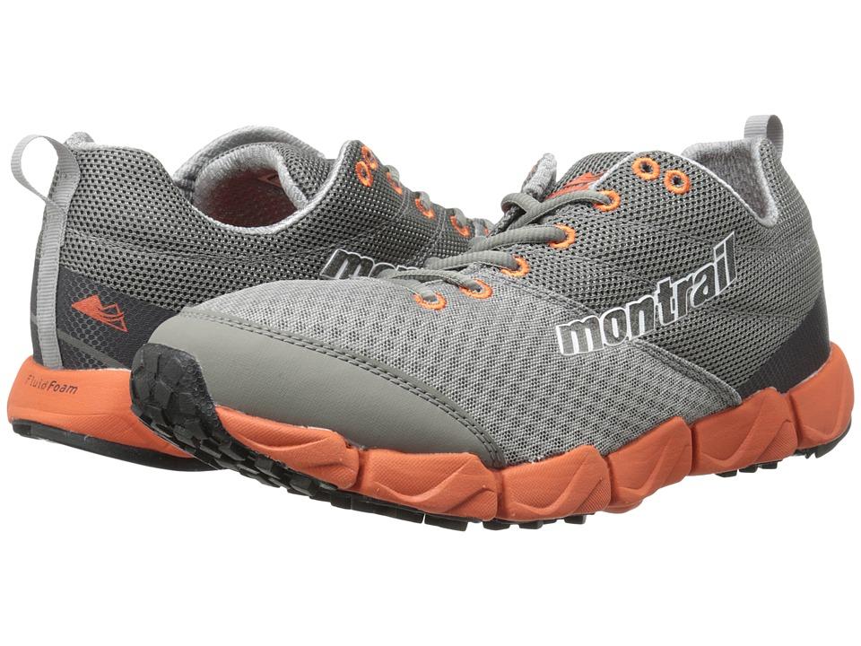 Montrail Fluidflex II Columbia Grey/Bonfire Mens Shoes