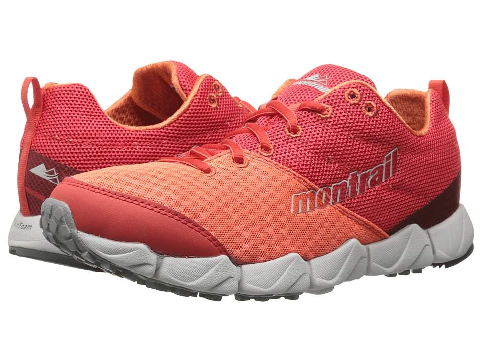 Montrail Fluidflex II Red Hibiscus/Coral Flame Womens Shoes