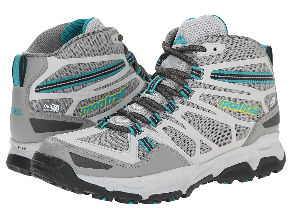 Montrail - Fluid Fusion Mid Outdry (Platinum/Cool Grey) Women