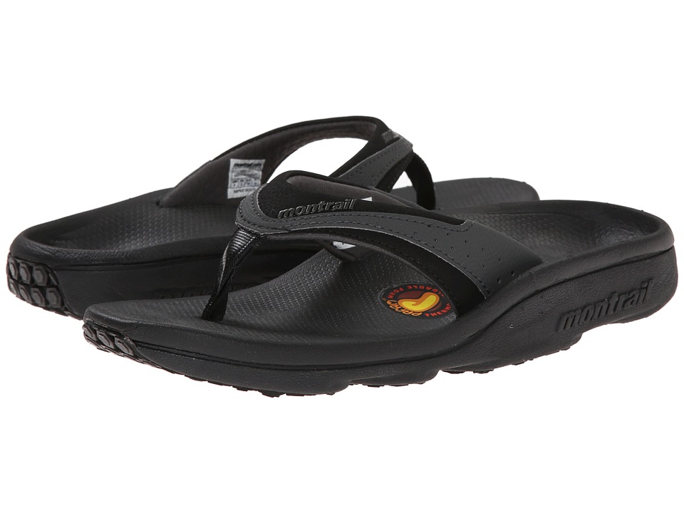 Montrail - Molokini II (Black/Grill) Womens Toe Open Shoes