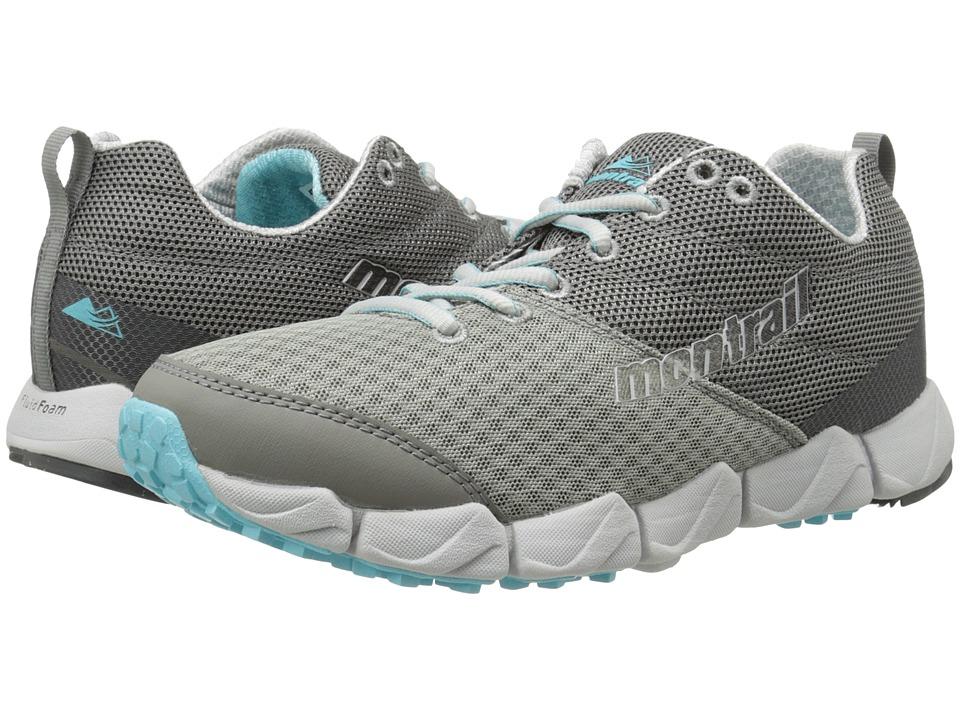 Montrail Fluidflex II Platinum/Stratus Womens Shoes