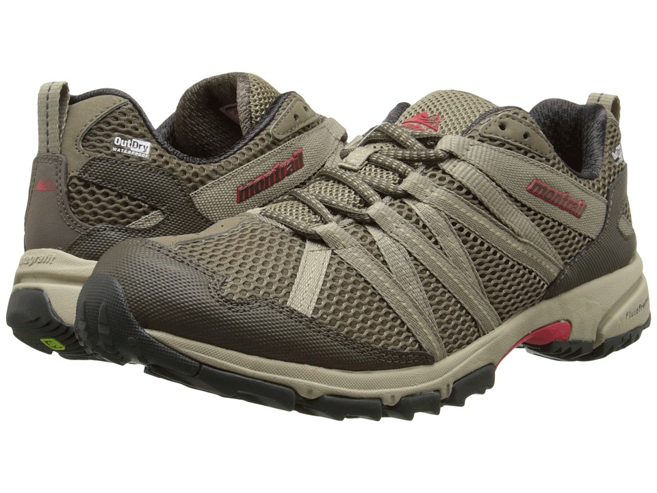 Montrail Mountain Masochist III Outdry Pebble/Silver Sage Womens Shoes