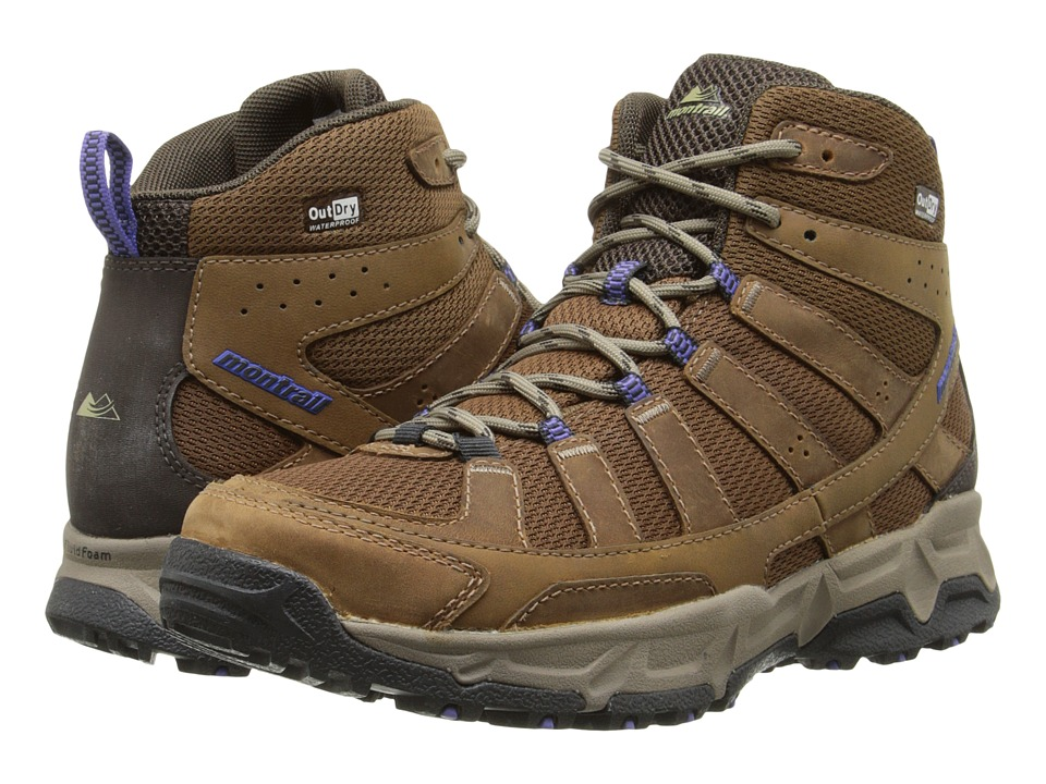 Montrail - Fluid Enduro Mid Leather Outdry (Autumn Bronze/Cordovan) Women