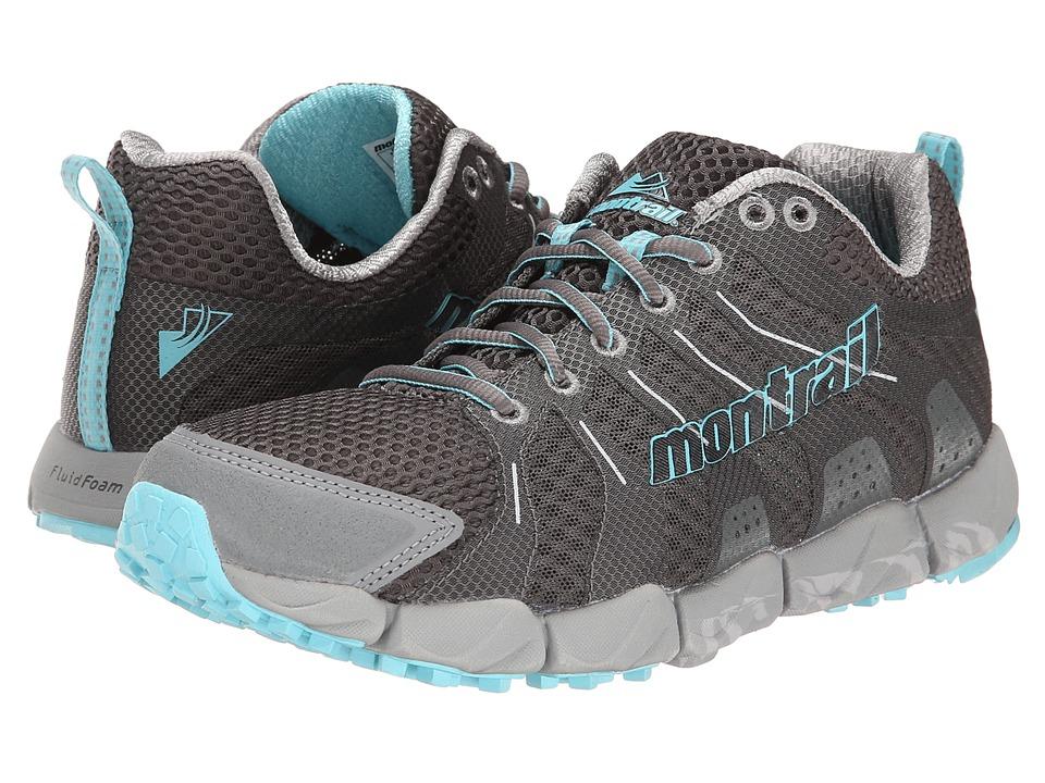Montrail Fluidflex ST Shale/Clear Blue Womens Shoes