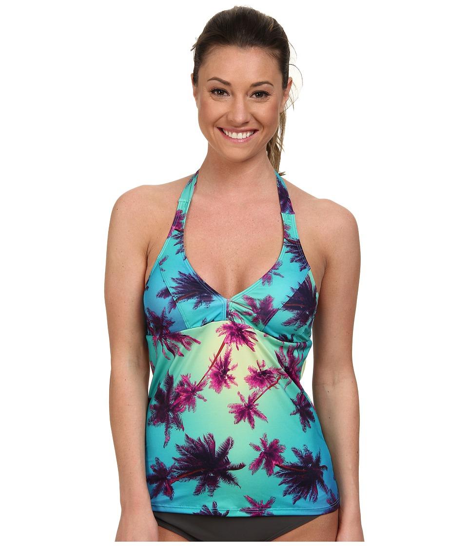 Carve Designs - Timor Tankini (Palms) Women's Swimwear