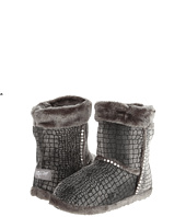 M&F Western - Plush Heart Sequin Bootie Slippers