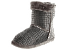 M&F Western Plush Heart Sequin Bootie Slippers