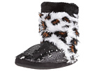 M&F Western Furry Sequin Bootie Slippers