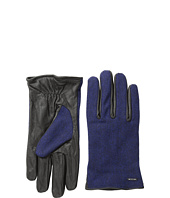 Scotch & Soda - Woolen Leather Gloves