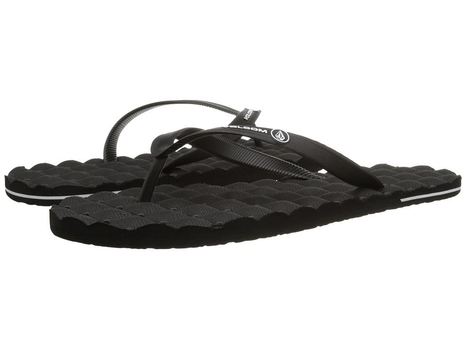 Volcom - Recliner Rubber (Black) Mens Sandals