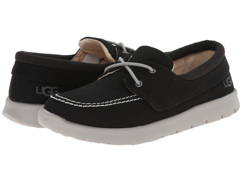 UGG Kids Anchor Toddler/Little Kid/Big Kid Black Canvas Boys Shoes