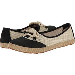 UGG Catrin Crochet Women's Slip on Shoes (Black/Textile/Nubuck)
