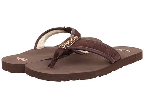 UGG Mens Borrego Leather Sandals