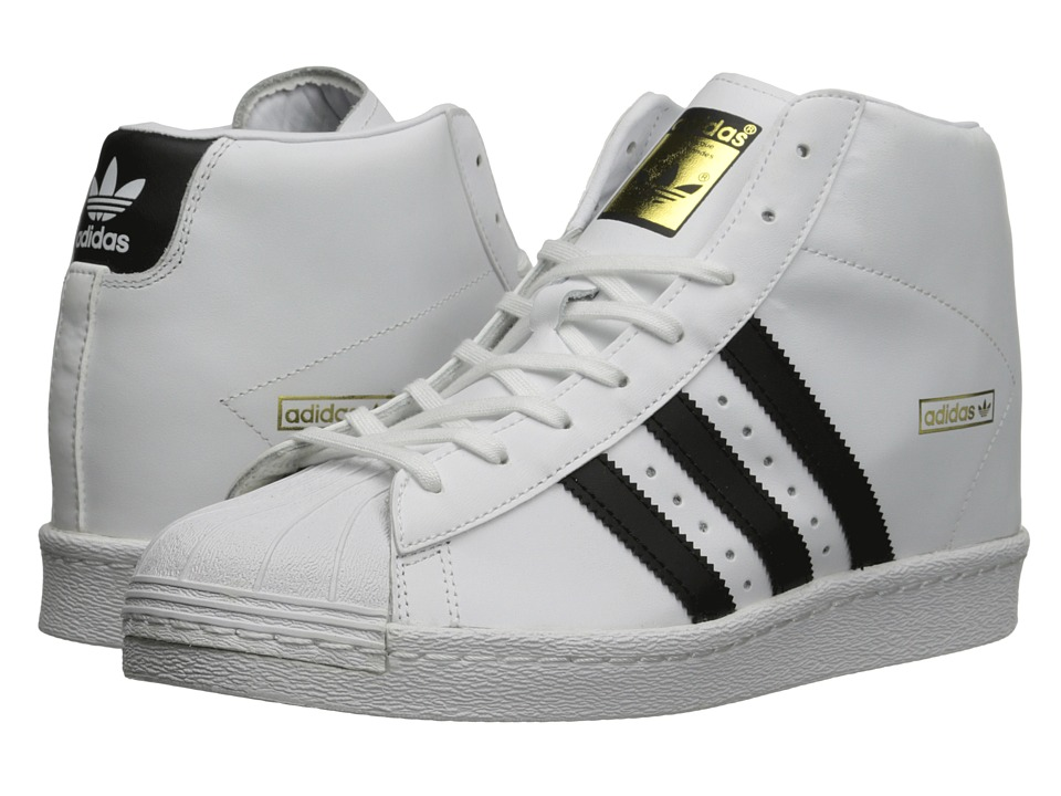 adidas Originals Superstar Up W White/Black/Gold Metallic Womens Classic Shoes