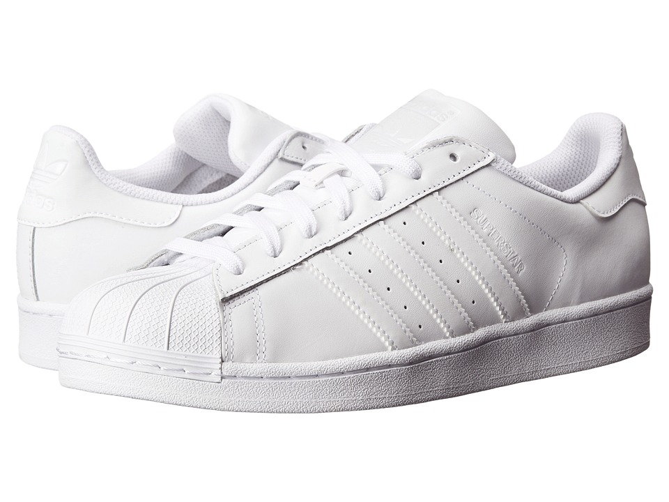 adidas Originals - Superstar W (White/White/White) Womens Classic Shoes
