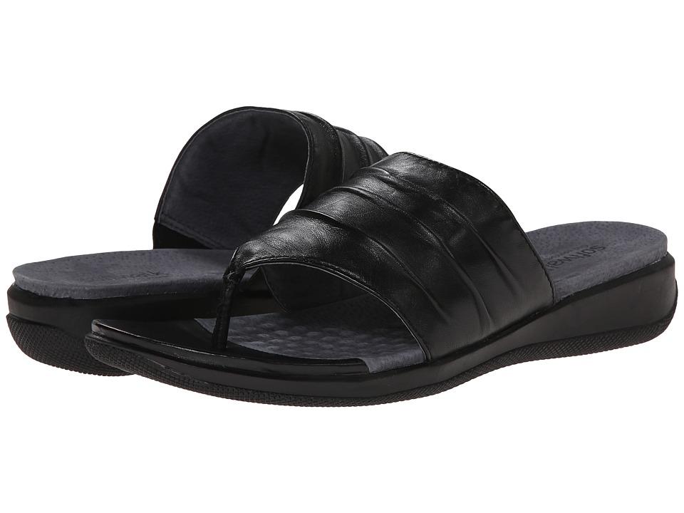 SoftWalk Toma (Black Soft Nappa Leather) Women