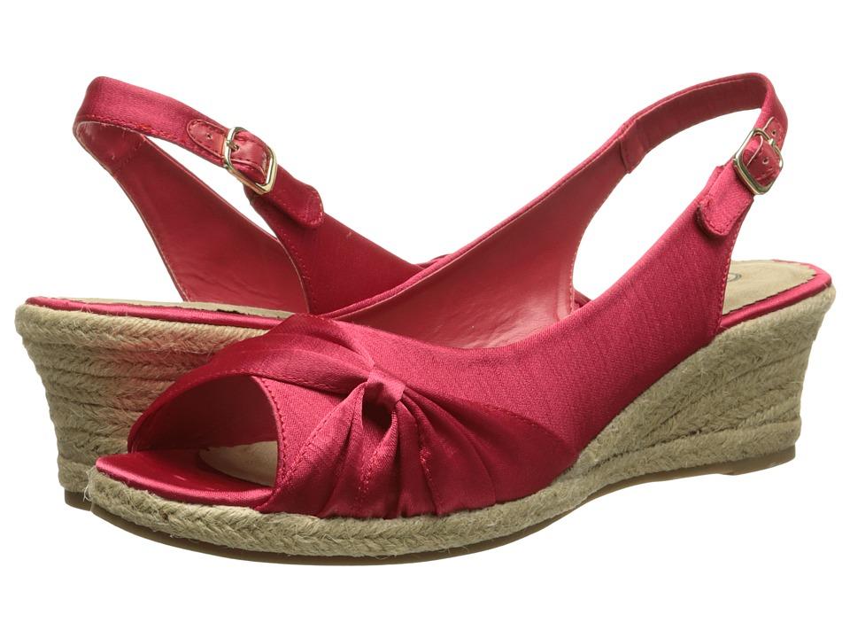 Bella-Vita - Sangria Too (Red) Women's Wedge Shoes