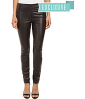 Blank NYC - Chocolate Brown Vegan Leather Pull On Skinny in Bad Date