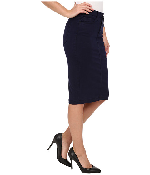 blank nyc navy blue pencil skirt 6pm
