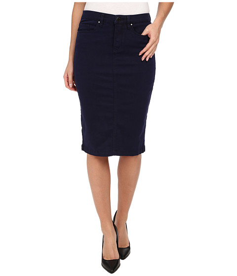blank nyc navy blue pencil skirt midnight blue shipped