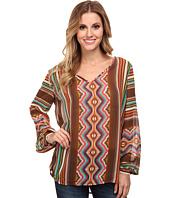 Stetson - 9316 Aztec Serape Print Chiffon Shirt
