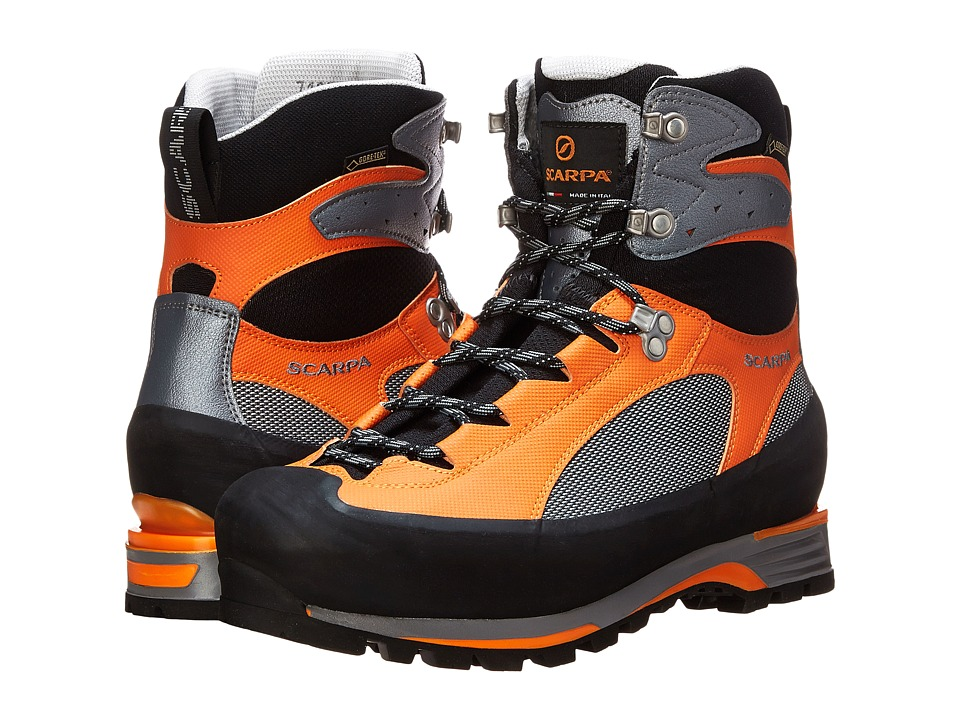 Scarpa Charmoz PRO GTX Grey/Orange Mens Lace up Boots