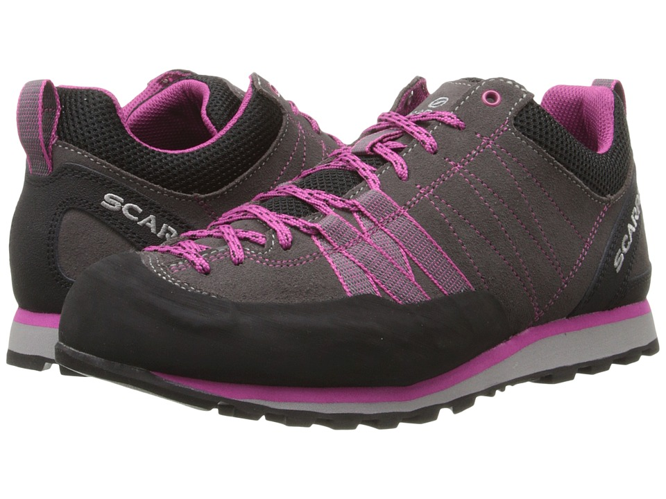 Scarpa Crux Mid Grey/Dahlia Womens Shoes
