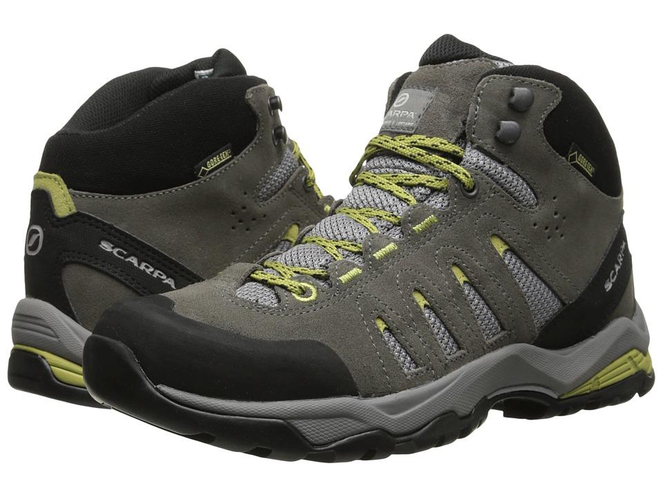 Scarpa - Moraine Mid GTX (Dark Grey/Celery) Womens Shoes