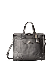 COACH - Metallic Leather Elevated Rhyder 33 Satchel