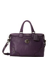 COACH - Crackle Leather Rhyder 24 Satchel