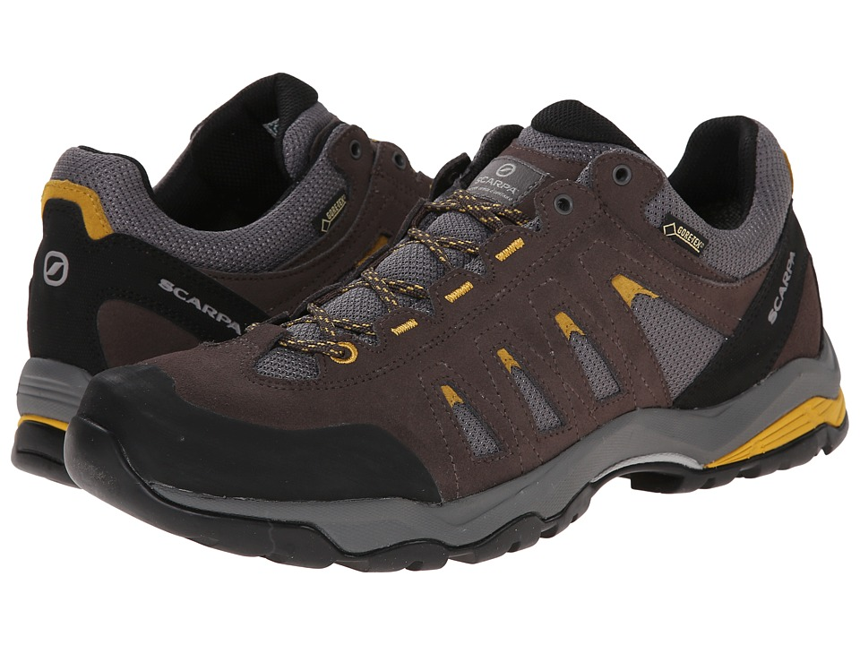 Scarpa - Moraine GTX(r) (Charcoal/Mustard) Mens Shoes