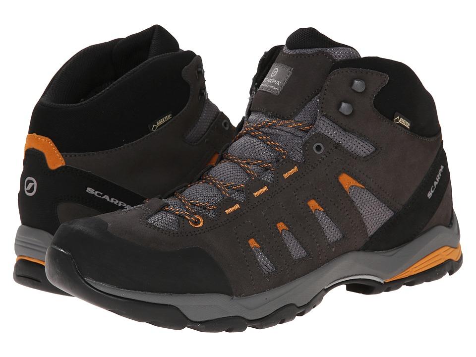 Scarpa - Moraine Mid GTX (Smoke/Amber) Mens Shoes