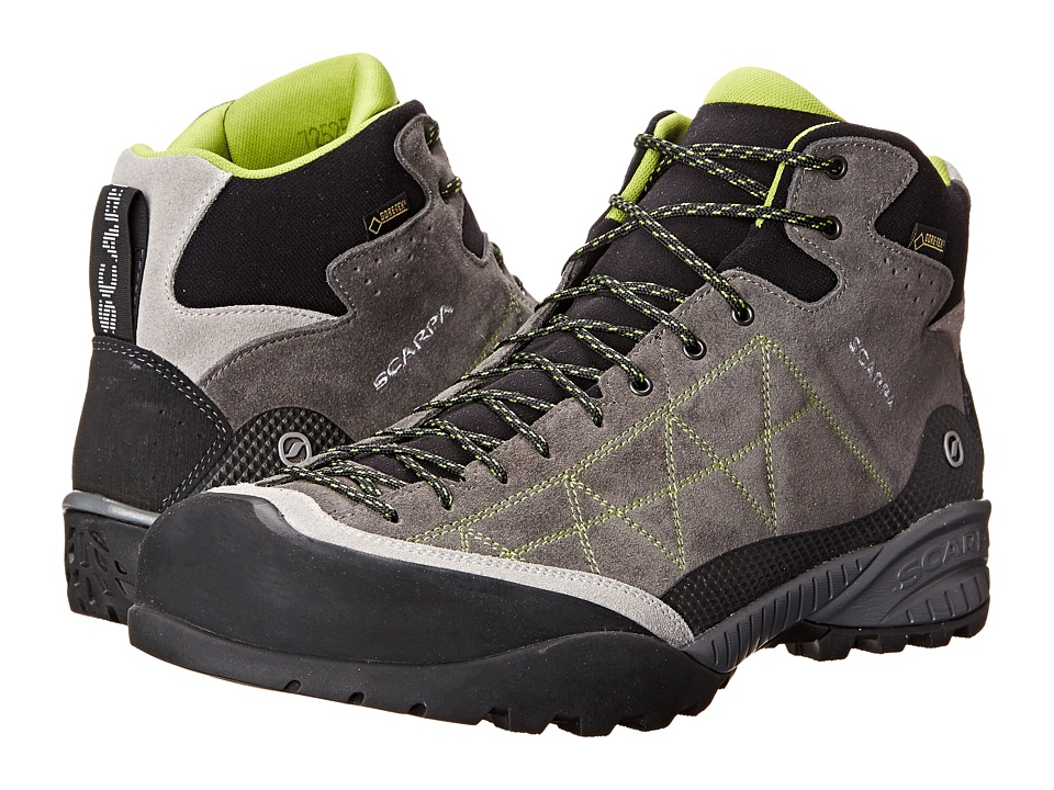 Scarpa - Zen Pro Mid GTX(r) (Shark/Spring) Mens Shoes