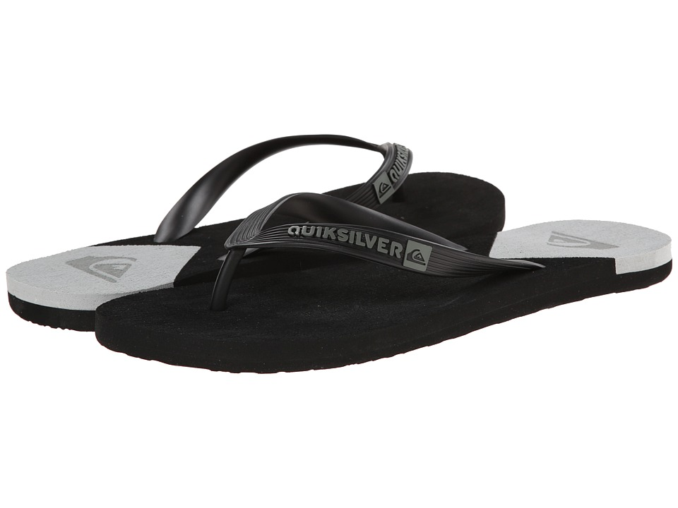Quiksilver - Molokai New Wave (Black/White/Black) Men