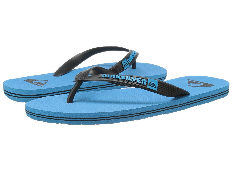 Quiksilver - Molokai (Black/Blue/Blue) Men