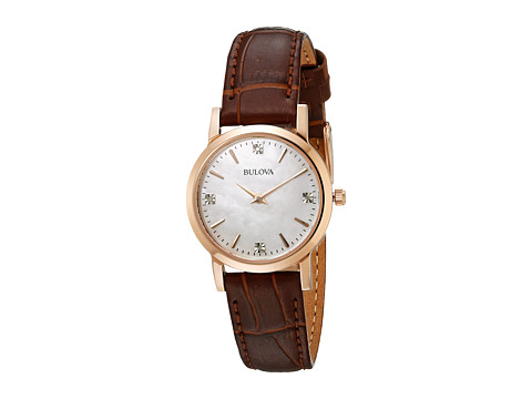 Bulova Ladies Dress - 97P105 - Rose