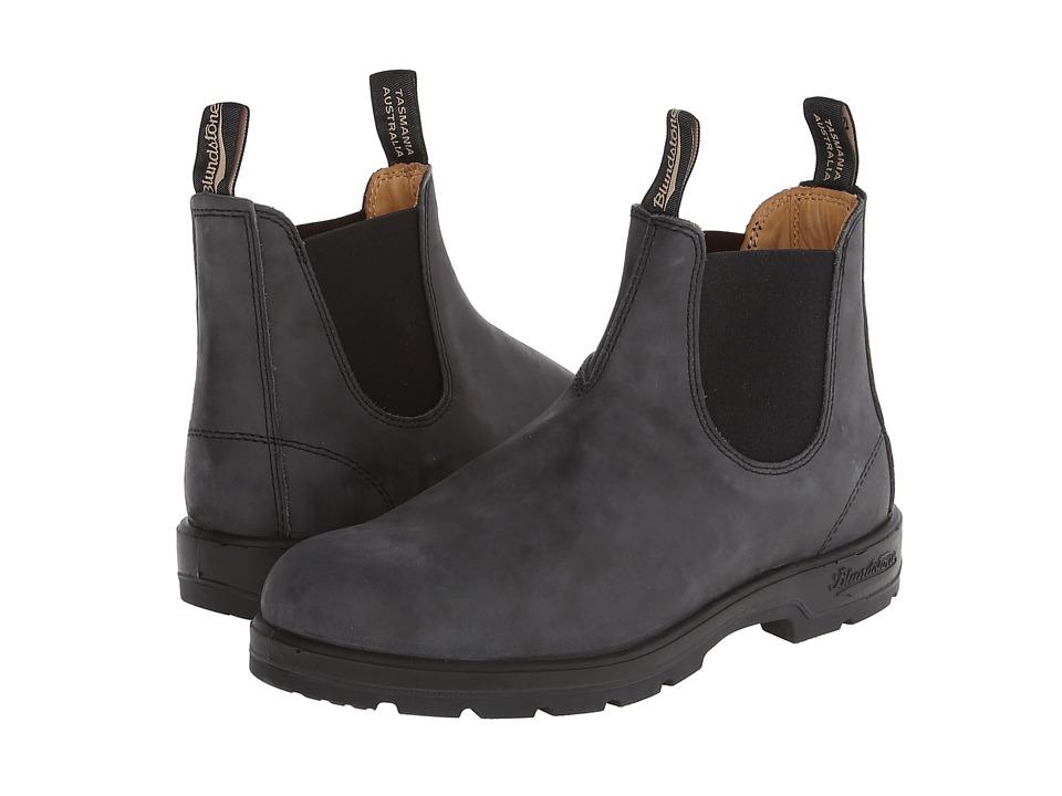 Blundstone - 587 (Rustic Black) Work Boots