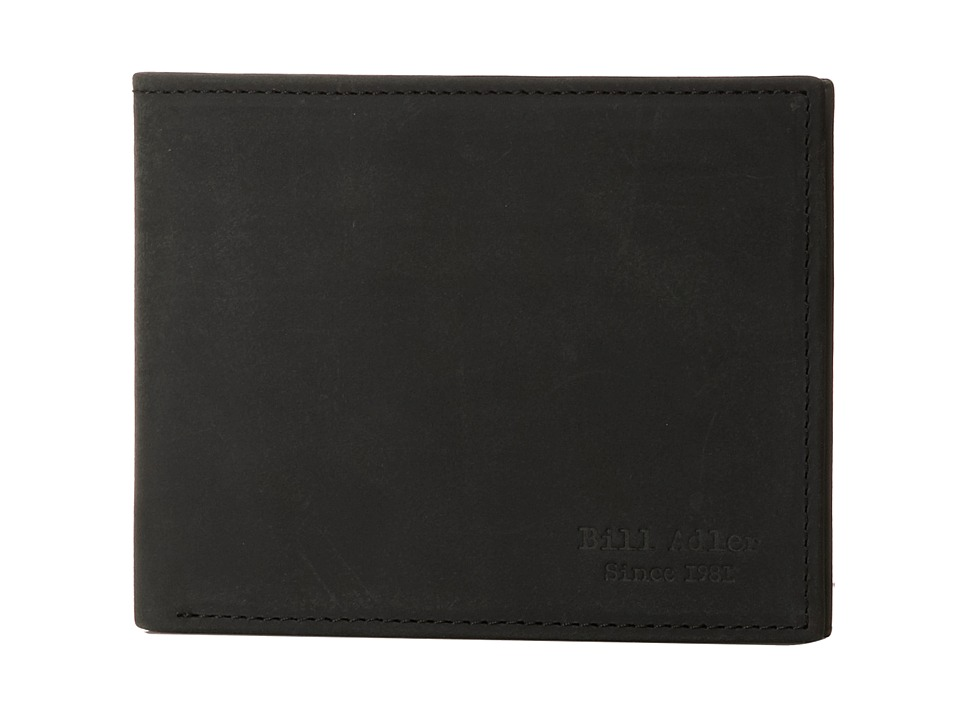 Image of Bill Adler 1981 - Crazyhorse Billfold (Black) Bill-fold Wallet