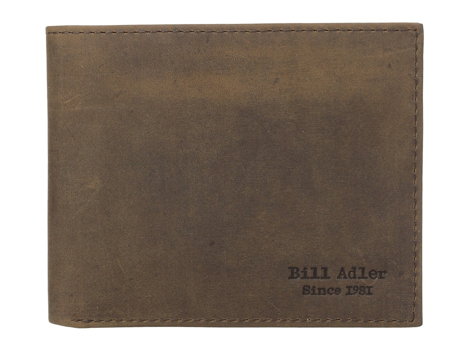 Image of Bill Adler 1981 - Crazyhorse Billfold (Brown) Bill-fold Wallet