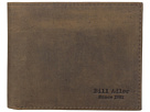 Bill Adler 1981 Crazyhorse Billfold (Brown)
