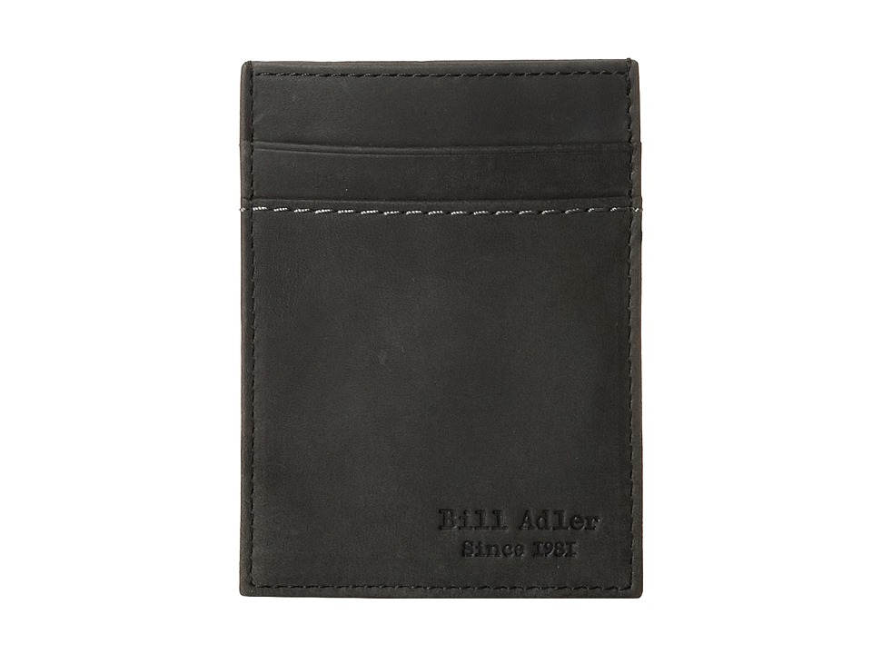 Image of Bill Adler 1981 - Crazyhorse Front Pocket Wallet (Black) Bill-fold Wallet
