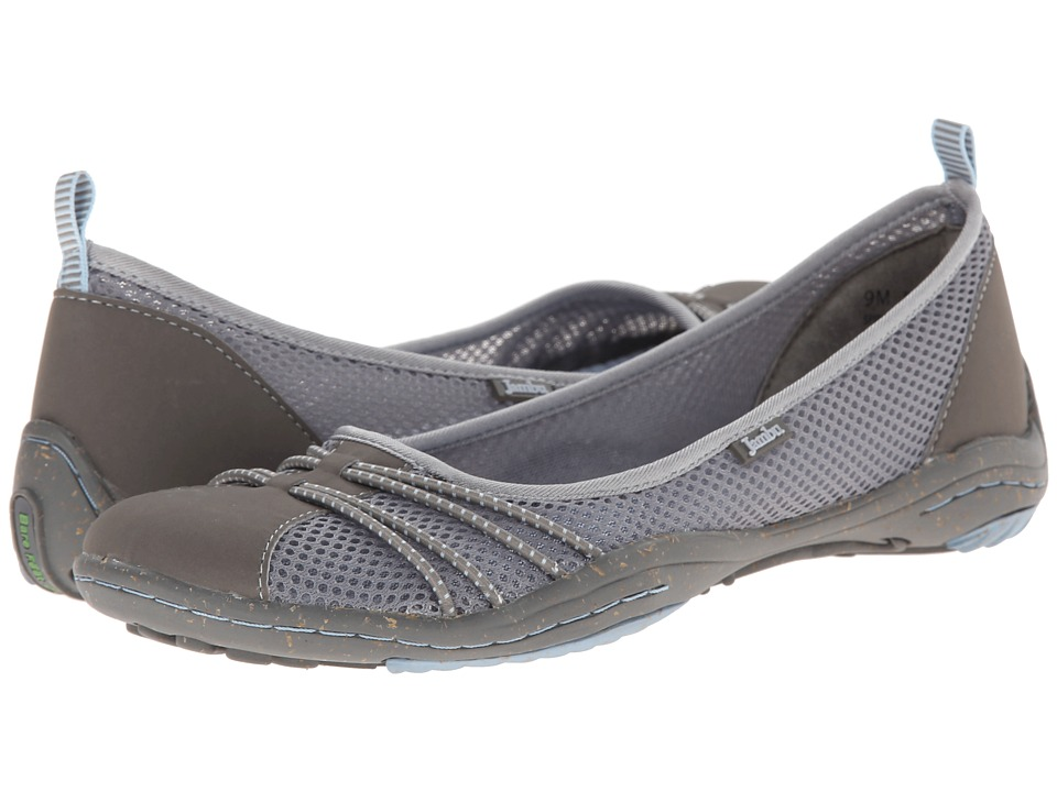 Jambu - Spin-Too - Barefoot (Grey/Stone Blue) Women