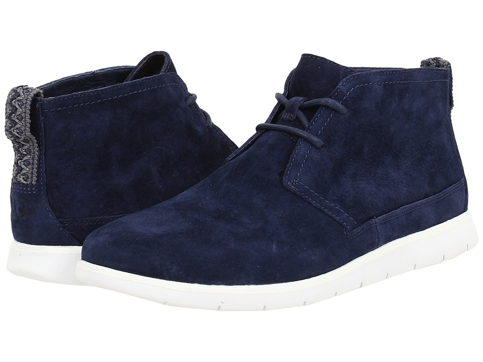 UGG - Freamon (New Navy Suede) Mens Lace-up Boots