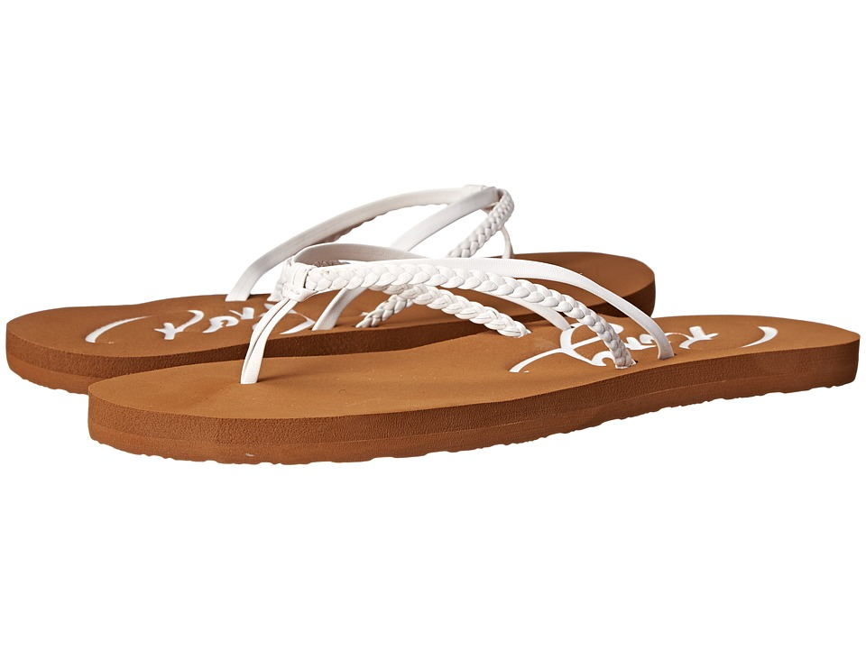 Roxy Cabo (White) Sandals