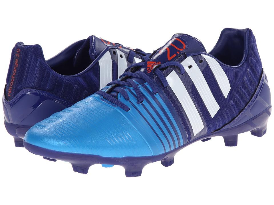 adidas - Nitrocharge 2.0 FG (Amazon Purple/Core White/Lucky Blue MAlange) Men